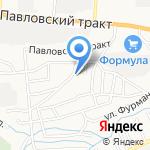Домашний на карте Барнаула