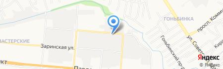 ПрофМаркет на карте Барнаула
