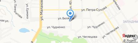Сеть платежных терминалов Сбербанк России на карте Барнаула