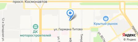 Эдельвейс на карте Барнаула