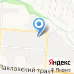 Папирус Алтай на карте Барнаула