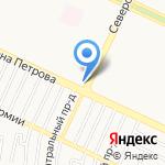 Черемушки на карте Барнаула