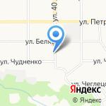 Супер Гриль на карте Барнаула