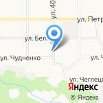 Центр-Алтай на карте Барнаула