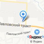 Кверт на карте Барнаула