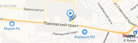 ДорСнаб на карте Барнаула