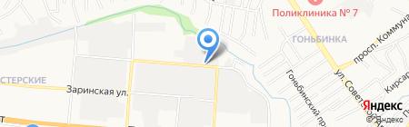 Апельсиновый праздник на карте Барнаула