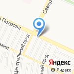 Абсолют-Юрист на карте Барнаула