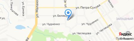 Ешка Пейка на карте Барнаула