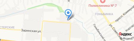 ХимТехноСервис на карте Барнаула