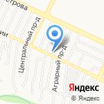 Вело-дром на карте Барнаула