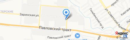Ассоциация промышленных альпинистов Сибири на карте Барнаула