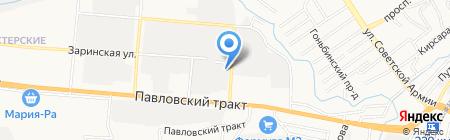 Эко-Терем на карте Барнаула