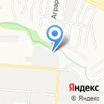 Дверис на карте Барнаула