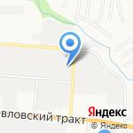 Транспортный сервис на карте Барнаула
