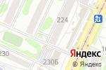 Схема проезда до компании Метеор в Барнауле
