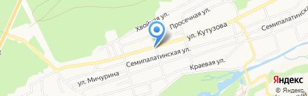Vegas grill на карте Барнаула