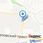 Караван Агро на карте Барнаула