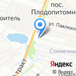Ирон на карте Барнаула