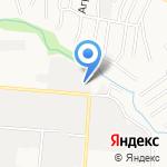 КИНГ на карте Барнаула