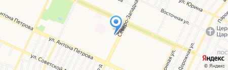 Фармакопейка на карте Барнаула