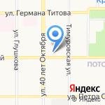 Алтайская академия гостеприимства на карте Барнаула