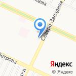 Гала-дент на карте Барнаула