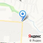 ЦКФ на карте Барнаула