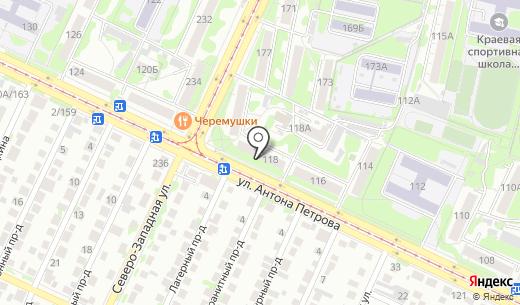Территориальное общественное самоуправление Матросовского микрорайона. Схема проезда в Барнауле