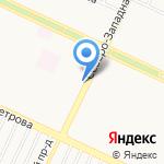 Киоск по продаже мясной продукции на карте Барнаула