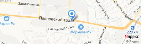 Рост-Проект на карте Барнаула