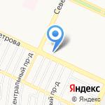 Участковый пункт полиции Отдела полиции №1 УВД по г. Барнаулу на карте Барнаула