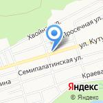 Анубис на карте Барнаула