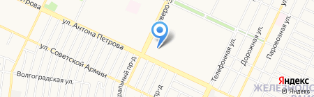 Косметичка на карте Барнаула