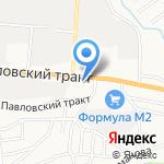 ТПК Сервис на карте Барнаула