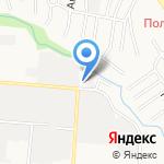 Альфа-газ на карте Барнаула