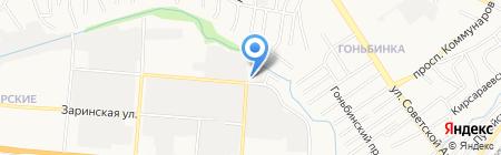Авто Атлант на карте Барнаула