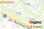 Схема проезда до компании Белые дороги в Барнауле