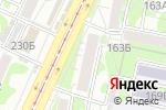 Схема проезда до компании Ирис в Барнауле