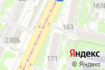 Схема проезда до компании КрепостьС в Барнауле