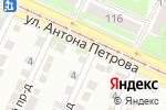 Схема проезда до компании Бизнес-Партнер в Барнауле