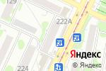 Схема проезда до компании Ларец в Барнауле