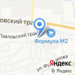 АБСтрой на карте Барнаула