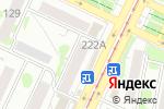 Схема проезда до компании Белый замок в Барнауле