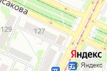 Схема проезда до компании Юнитек в Барнауле