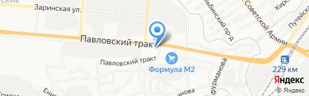 Автозапчасть на карте Барнаула