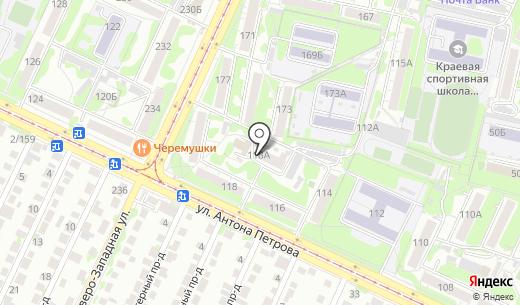 КОНСАЛТА. Схема проезда в Барнауле