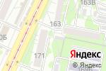 Схема проезда до компании Верона в Барнауле