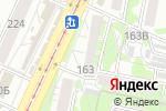 Схема проезда до компании Красное яблоко в Барнауле