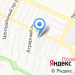 Салон автопроката на карте Барнаула